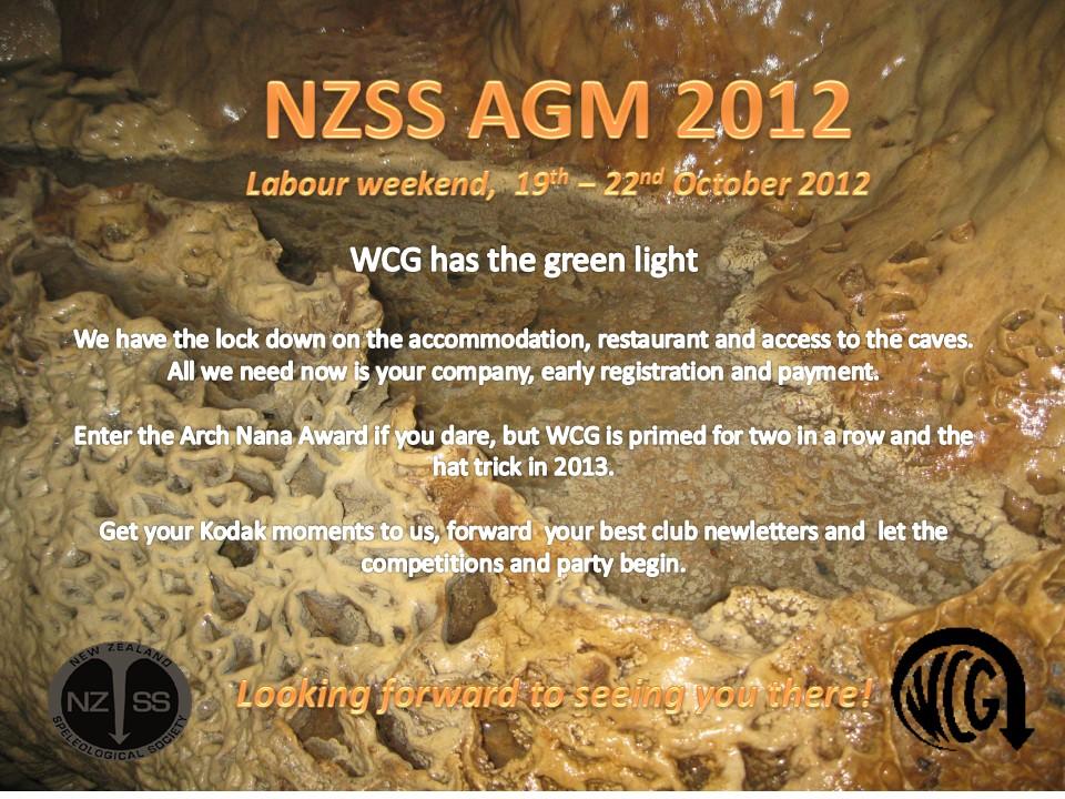 2012 NZSS AGM poster
