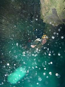 2013-03-29 18.04.39 P1040820 Simon - Waitomo Stream waterfall.jpeg: 3000x4000, 4301k (2013 Aug 08 00:00)