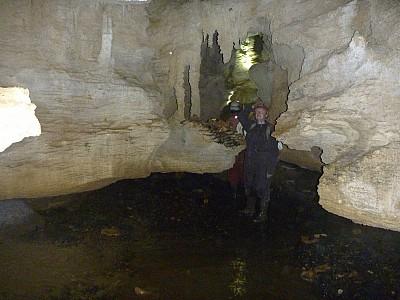 2013-03-31 18.38.47 P1040909 Simon - Mangapohue Cave.jpeg: 4000x3000, 5350k (2013 Aug 11 00:00)